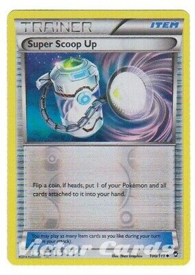 Pokemon Super Scoop Up - 100/111 - Reverse Holo - Furious Fists - LP