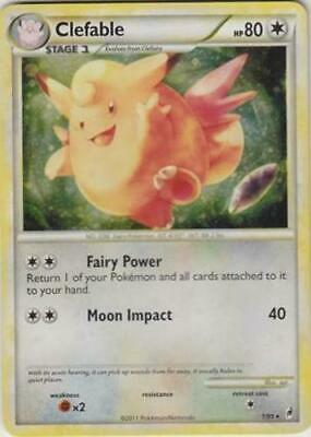 OtBG Clefable 1/95 Call of legends COL English Pokemon Holo Foil Light Play LP