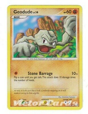 Pokemon Geodude - 65/99 - X4 - Arceus Set - MP