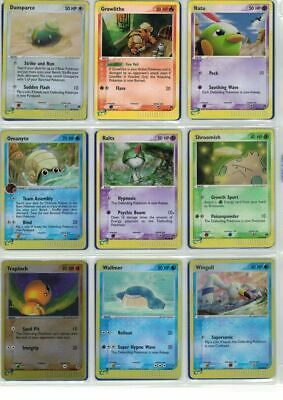 Pokemon Card Collection - Ex Sandstorm Set /100 - Rare Common Uncommon Cards
