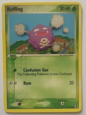 Koffing 72/113 Common Ex Delta Species 2005 Pokemon Barely Used Nm