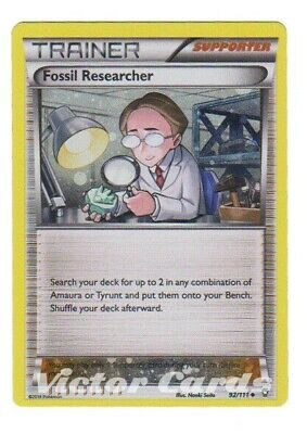 Pokemon Fossil Researcher - 92/111 - Alternate Holo - Furious Fists - MP