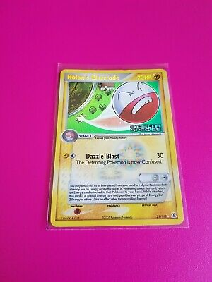 Pokemon Holon's Electrode Reverse Holo Ex Delta Species 21/113 Highly Played