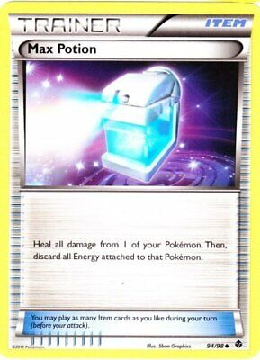 1x - Max Potion - 94/98 - Uncommon LP Pokemon Emerging Powers