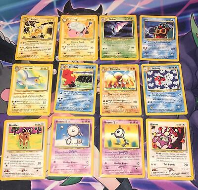 /64 NEO REVELATION WOTC ~ CHOOSE SINGLE CARDS ~ UNLIMTED & 1ST EDITION ~ Pokemon