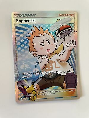 Sophocles 146/147 Burning Shadows Pokemon - Very Rare Collectable Card
