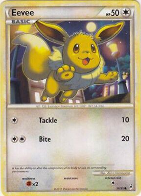 1x - Eevee - 56/95 - Common NM Pokemon Call of Legends