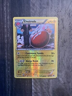Pokemon Electrode 22/108 Uncommon Reverse Holofoil Nm Card  Roaring Skies