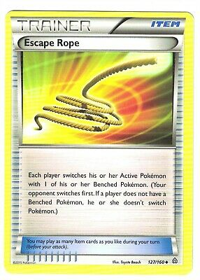 Pokemon XY Primal Clash, Escape Rope 127/160, Uncommon, Mint,