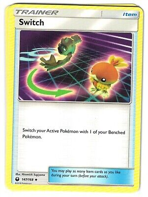 Pokemon TCG Celestial Storm, Switch 147/168, Uncommon NM-M