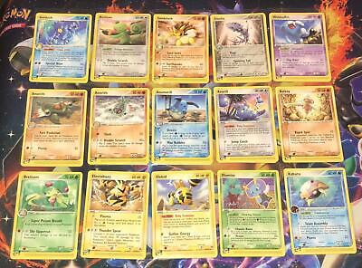 /100 EX SANDSTORM ~ E-SERIES ~ NON HOLOS ~ CHOOSE YOUR SINGLE CARDS ~ Pokemon