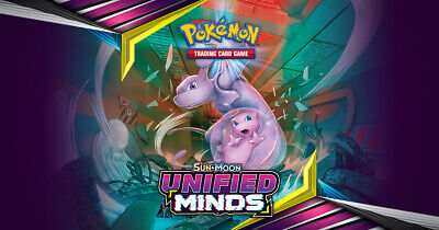 Pokemon Trading Card Game - SM Unified Minds - Reverse Holo Cards