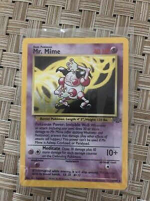 Mr. Mime 6/64 Holo Jungle Near Mint 1999 Pokemon