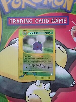 Jumpluff 17/147 Aquapolis Reverse Holo Rare Pokemon Card - LP