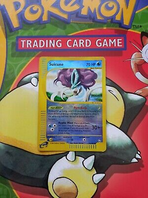 Suicune 37/147 Aquapolis Reverse Holo Rare Pokemon Card