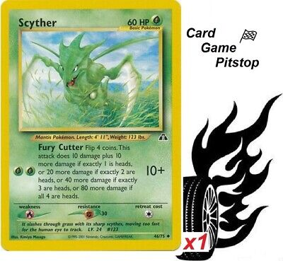 Scyther  | Pokemon Neo Discovery Unlimited Uncommon  46/75 MP