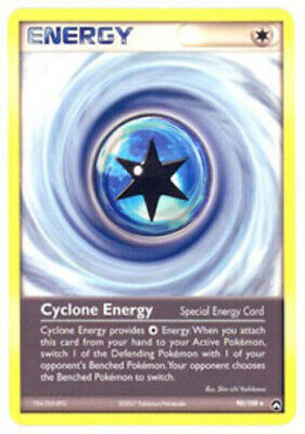 1x - Cyclone Energy - 90/108 - Uncommon PL/MP, English Pokemon EX Power Keepers