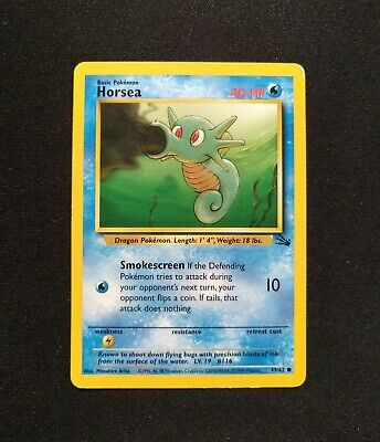 HORSEA Pokemon Fossil 49/62 LP