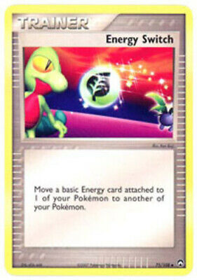 1x - Energy Switch - 75/108 - Uncommon HP, English Pokemon EX Power Keepers