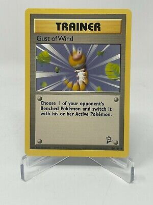 Pokemon Base Set #2 Trainer Gust Of Wind 120/130 Non-Holo LP