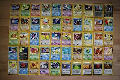 Neo Revelation 1st or Unlimited Edition Common Uncommon Non Holo Pokemon Cards