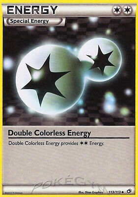 Double Colorless Energy - 113/113 Legendary Treasures - Uncommon EN NM Pokemon