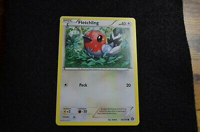 Pokemon Fletchling XY Steam Siege 94/114 NM/Mint Never Played Cards