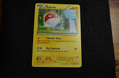 Pokemon Voltorb XY Roaring Skies 21/108 NM/Mint Never Played Cards