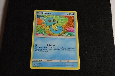 Pokemon HORSEA Dragon Majesty 15/70 NM/Mint Never Played Cards PACK FRESH