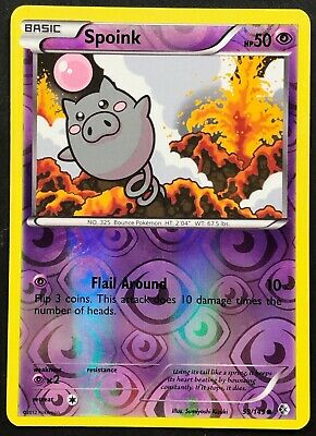 Pokemon Card Spoink Boundaries Crossed 59/149 NEAR MINT Reverse Holo Common TCG!
