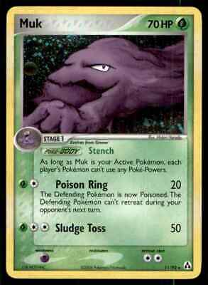 2006 Pokemon EX Legend Maker Muk #11