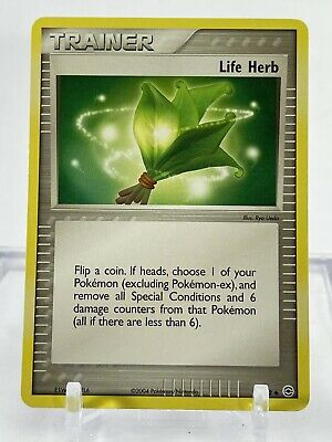 Pokemon LIFE HERB Trainer 93/112 FireRed & LeafGreen - Near Mint Condition