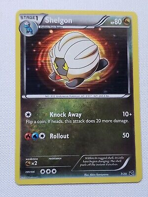 Shelgon 7/20 Dragon Vault Holofoil Rare Pokemon Card