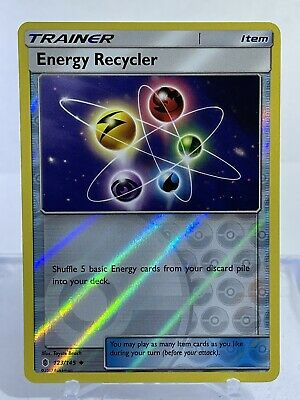 Trainer Energy Recycler 123/145 Guardians Rising Reverse Holo Pokemon