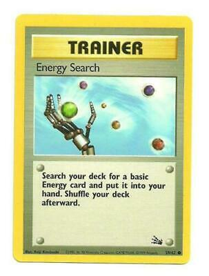 ENERGY SEARCH 59/62 FOSSIL Set  POKEMON CARD   Near Mint NM