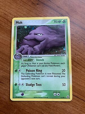 Muk Holo EX Legend Maker Rare Pokemon Card 2006 11/92