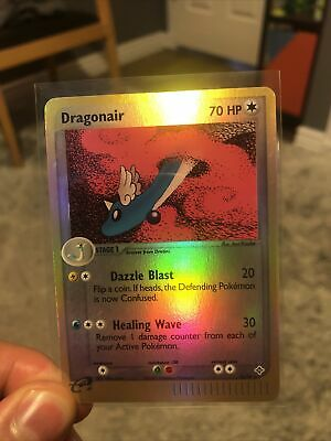 Pokemon Dragonair 14/97 Reverse Holo Rare Ex Dragon LP/NM *FREE SHIPPING*