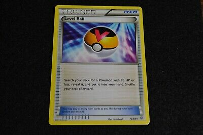 Pokemon LEVEL BALL XY Ancient Origins 76/98 NM/Mint Never Played Cards