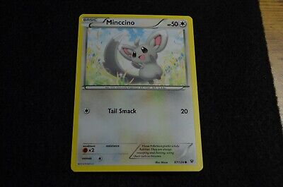 Pokemon MINCCINO XY Fates Collide 87/124 NM/Mint Never Played Cards