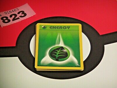 Pokemon Gym Heroes Grass Energy Cards x10 - 129/132