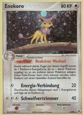 Enekoro / Delcatty - 4/92 EX Legend Maker - Holo DE NM Pokemon