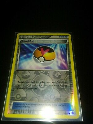 Reverse Holo Ancient Origins Level Ball 76/98 Trainer Set Pokemon Near Mint Rare