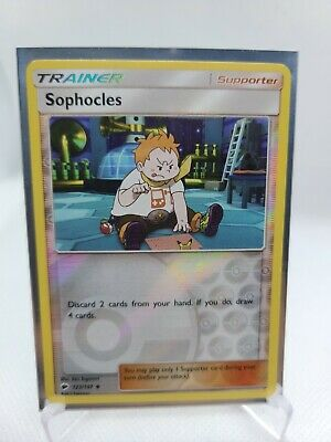 Sophocles (X1) Burning Shadows Pokemon Card Reverse Holo Pack Fresh 123/147