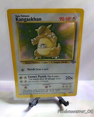 Pokemon Jungle Kangaskhan Holo Foil 5/64  LP