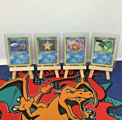 Pokemon Gym Heroes 1st Edition Single Cards - Finish Your Set! Select Your Card!