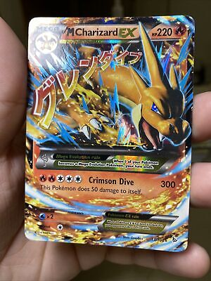 M Charizard EX 13/106 Flashfire Pokemon Card PL