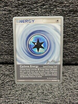 Pokemon Card- Cyclone Energy - 90/108 - Power Keepers, Uncommon -World Champs 08
