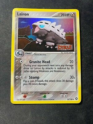 Lairon EX Power Keepers STAMPED Reverse Holo 32/108  Pokemon Card
