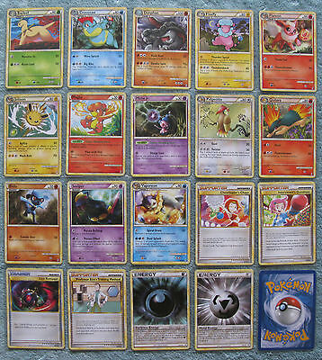 Pokemon TCG Call of Legends Uncommon & Common Card Selection