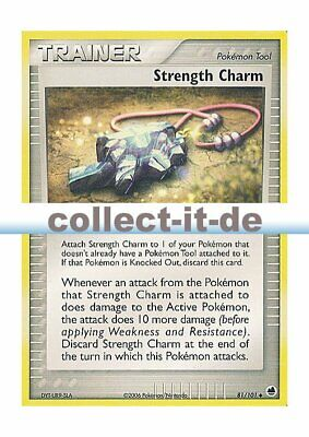 Pokemon EX Dragon Frontiers 81/101 - Strength Charm Englisch